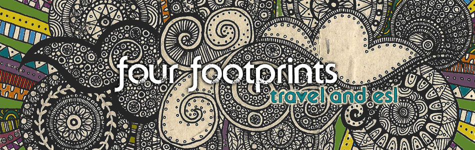 Website header for fourfootprints.com